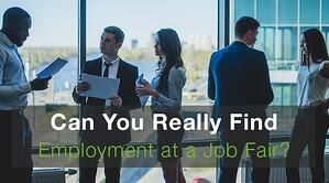 Can You Really Find Employment at a Job Fair