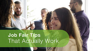 Job Fair Tips That Actually Work