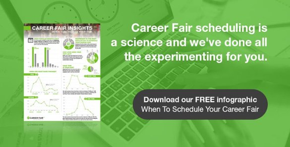 When to schedule your career fair