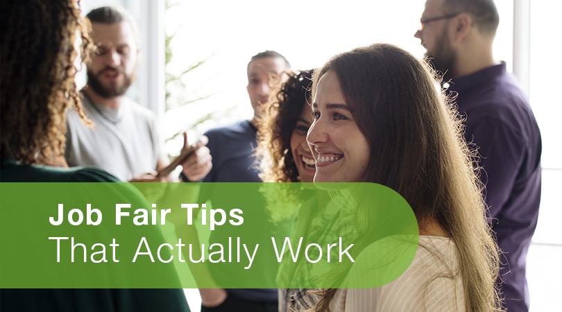Job Fair Tips That Actually Work