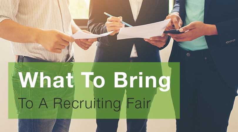 What To Bring To A Recruiting Fair